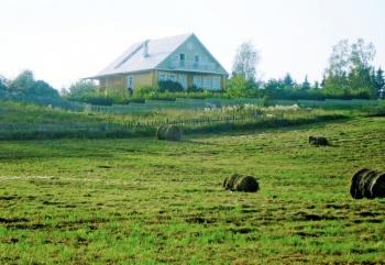 Деревенский домик под Вологдой