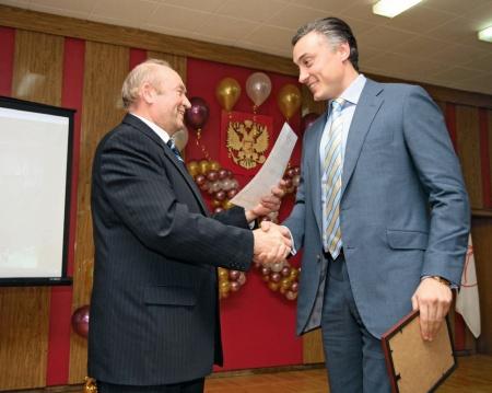 В 2009 году cвинокомплекс «Томский» отметил 30-летний юбилей. Андрей Тютюшев и замгубернатора Томской области Владислав Брок