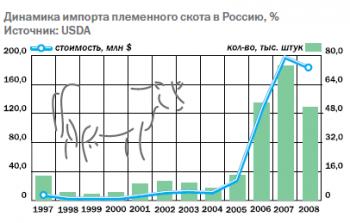 Мясо-молочное животноводство России: проблемы импортозамещения