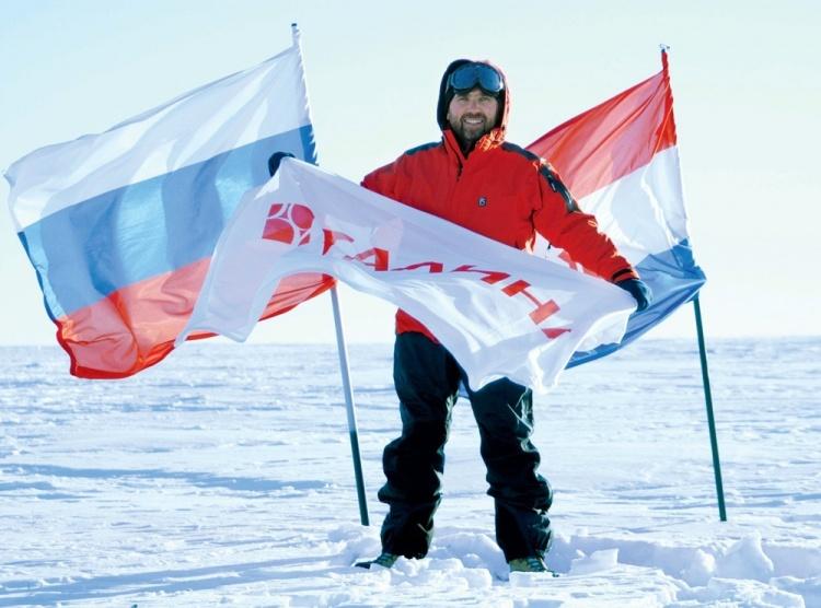 Виктор Бирюков на Южном полюсе][thumb=left