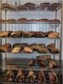 Сухое созревание признано лучшим способом получения выдержанного мяса