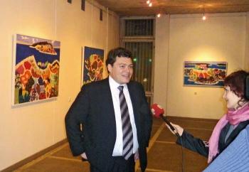 Стефано Влахович является истинным ценителем живописи и коллекционером картин хорватских художников. На открытии выставки хорватского художника Стипе Нобило в Калининграде, спонсором которой он является