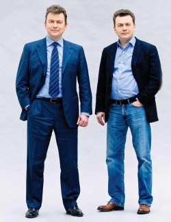Виктор и Александр Линники: «У нас стопроцентная взаимозаменяемость»