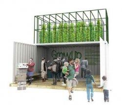 GrowUp - городская ферма в контейнерах