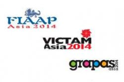 8.04-10.04.2014 г. FIAAP Asia, VICTAM Asia and GRAPAS Asia 2014