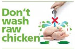 Общественность Великобритании призвали перестать мыть сырое мясо птицы