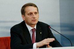 Сергей Нарышкин:«Импортозамещению в сельском хозяйстве способствуют контрсанкции»