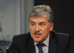 Павел Грудинин:«У нас производство сельхозпродукции не выгодно»